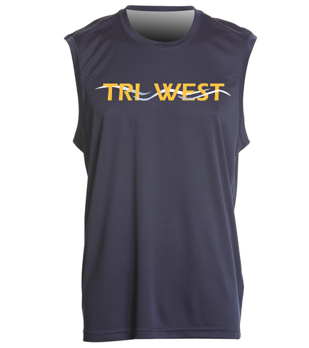 TRIW - SwimOutlet Men's Sleeveless PosiCharge® Competitor™ Tank