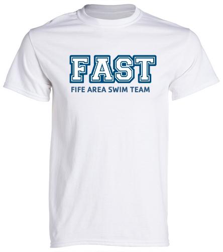 FAST T-Shirt  - SwimOutlet Unisex Cotton Crew Neck T-Shirt