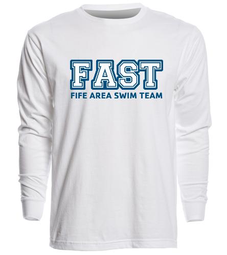 Long Shirt - SwimOutlet Unisex Long Sleeve Crew/Cuff