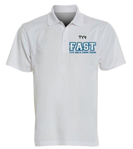 FAST Men's Tech Polo  - TYR Men's Alliance Tech Polo