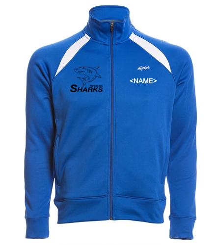 Sharks Warmup Jacket (Dolfin) - Dolfin Warm Up Jacket