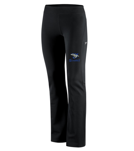 Sharks Women Yoga Pant - Speedo Women's Yoga Pant