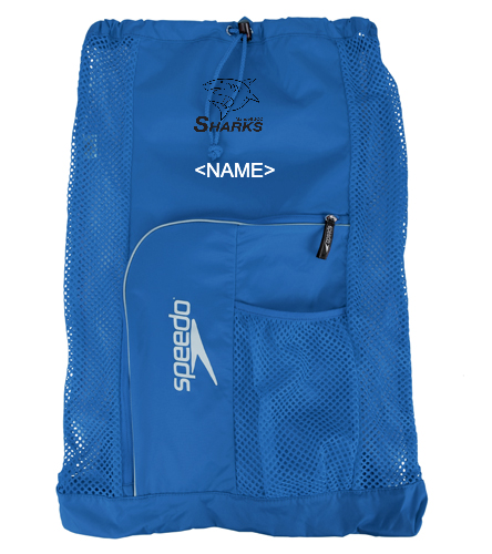 Sharks Delux Mesh Bag - Speedo Deluxe Ventilator Mesh Bag