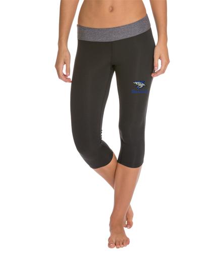 Sharks Yoga Capri - Speedo Women's Capri Pant