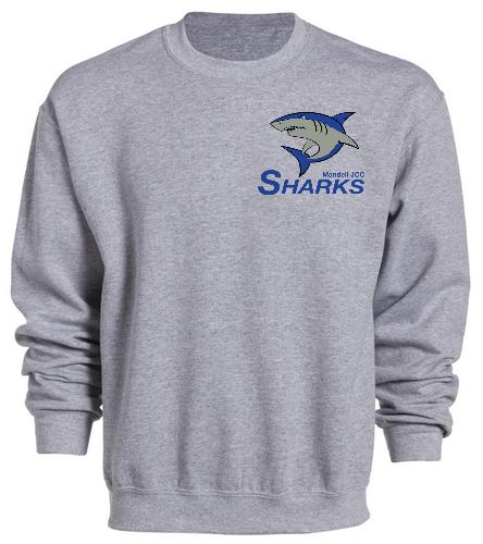 Sharks Heavy Blend Crewneck Sweatshirt - SwimOutlet Heavy Blend Unisex Adult Crewneck Sweatshirt