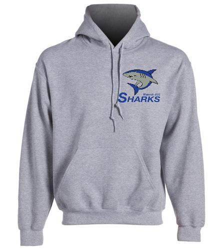 Sharks Heavy Blend Hooded Sweatshirt - SwimOutlet Heavy Blend Unisex Adult Hooded Sweatshirt
