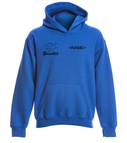 Heavy Blend Youth Sweatshirt Blue - SwimOutlet Youth Heavy Blend Hooded Sweatshirt