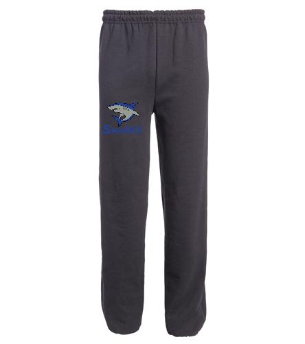 Heavy Blend Sweatpant Black - SwimOutlet Heavy Blend Unisex Adult Sweatpant