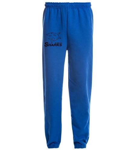 Heavy Blend Adult Sweatpant Blue - SwimOutlet Heavy Blend Unisex Adult Sweatpant