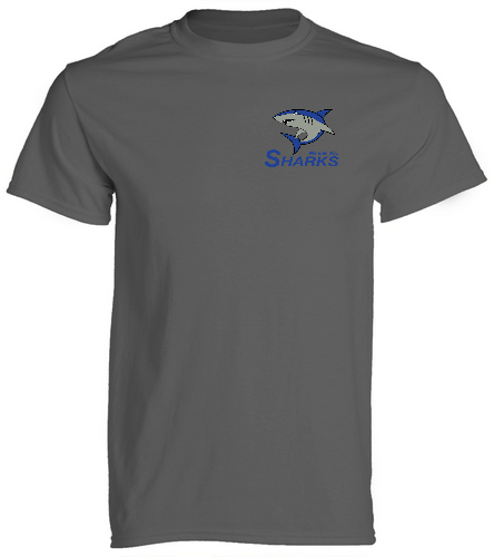 Sharks Unisex T-Shirt - SwimOutlet Cotton Unisex Short Sleeve T-Shirt