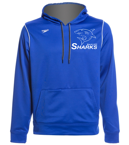 Sharks Hoodie - Speedo Unisex Pull Over Hoodie Sweatshirt