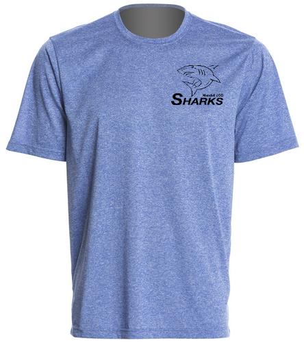 Sharks Men Tech T-Shirt - SwimOutlet Men's Tech Tee