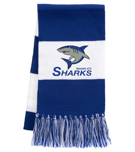 Sharks Team Scarf - SwimOutlet Spectator Scarf