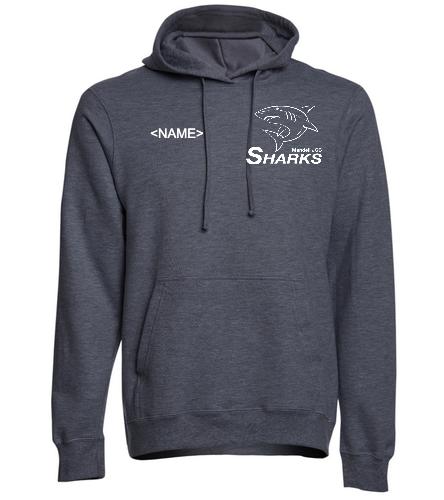 Sharks Unisex Fleece Hoodie Swim Outlet - SwimOutlet Adult Fan Favorite Fleece Pullover Hooded Sweatshirt