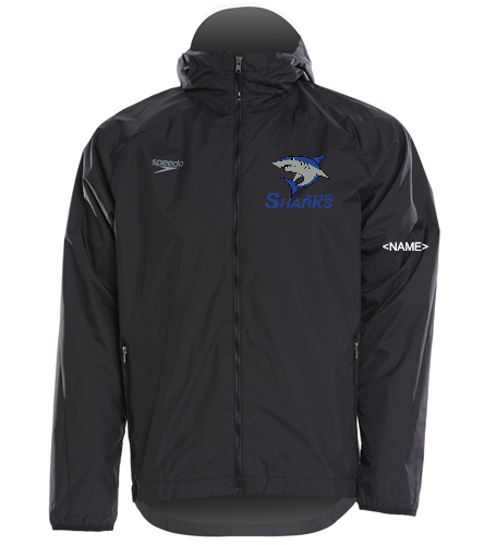 Sharks Elite Men Jacket - Speedo Elite Men's Jacket