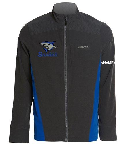 Dolphin Men Warmup Jacket  - Dolfin Men's Warm-up Jacket