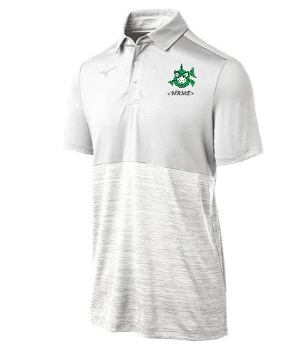 Team Polo White - Mizuno Men's Alpha Polo