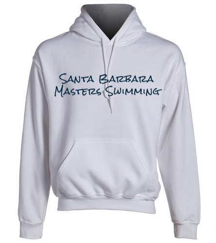 SBMS White - SwimOutlet Heavy Blend Unisex Adult Hooded Sweatshirt