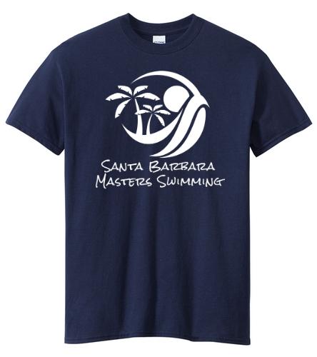 SBMS Navy - SwimOutlet Unisex Cotton Crew Neck T-Shirt