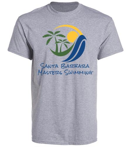 SBMS Gray - SwimOutlet Unisex Cotton Crew Neck T-Shirt