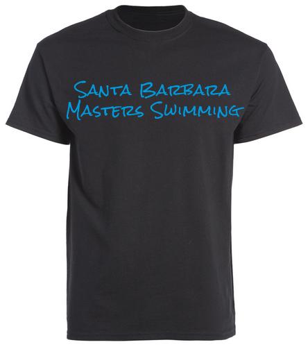 SBMS Black Blue - SwimOutlet Unisex Cotton Crew Neck T-Shirt