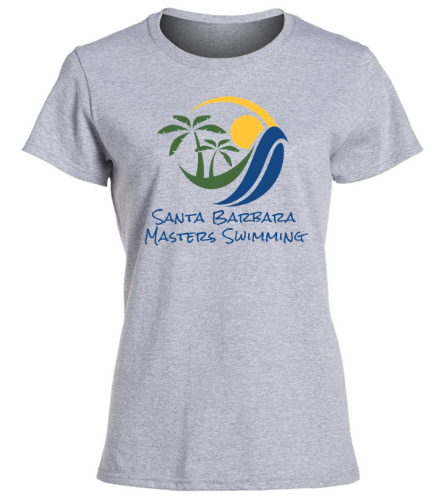 SBMS Gray - SwimOutlet Women's Cotton Missy Fit T-Shirt