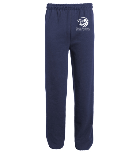 SBMS - SwimOutlet Heavy Blend Unisex Adult Open Bottom Sweatpants