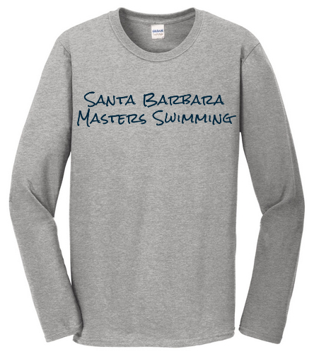 SBMS Grey - SwimOutlet Cotton Unisex Long Sleeve T-Shirt