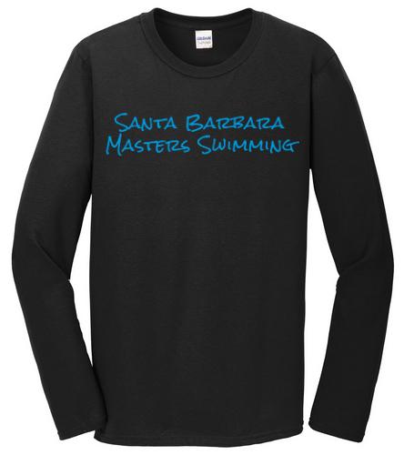 SBMS Black Blue - SwimOutlet Cotton Unisex Long Sleeve T-Shirt