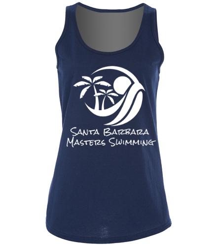 SBMS - SwimOutlet Women's Cotton Racerback Tank Top