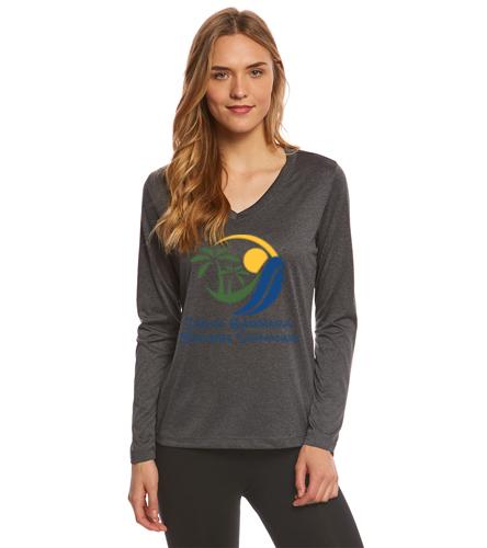 SBMS - SwimOutlet Women's Long Sleeve Tech T Shirt