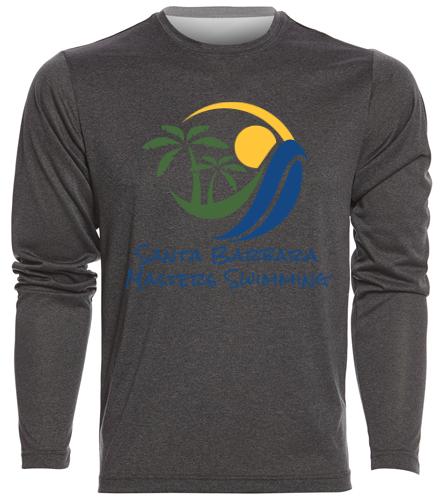 SBMS - SwimOutlet Men's Long Sleeve Tech T Shirt