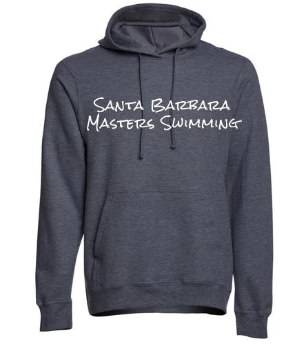 SBMS Dark Heather - SwimOutlet Adult Fan Favorite Fleece Pullover Hooded Sweatshirt