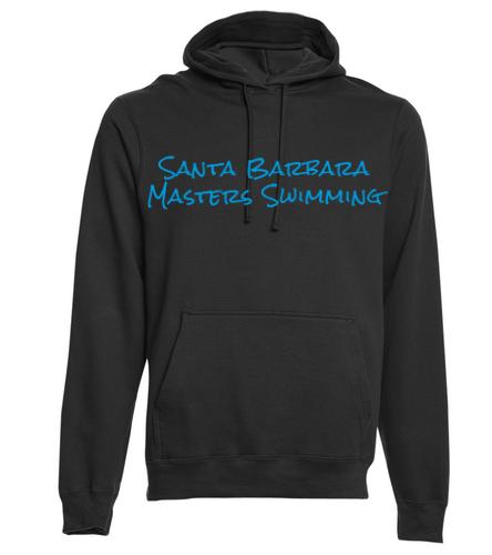 SBMS Black Blue - SwimOutlet Adult Fan Favorite Fleece Pullover Hooded Sweatshirt