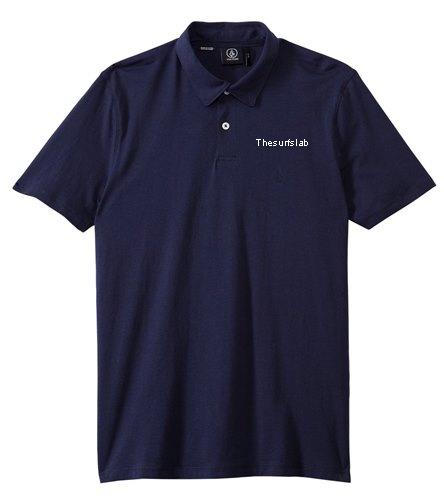 Volcom Men's Wowzer Short Sleeve Polo Shirt by Thesurfslab - Volcom Men's Wowzer Short Sleeve Polo Shirt