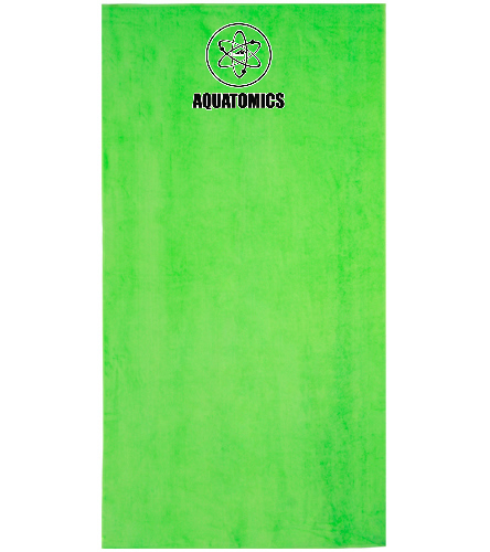 Aquatomics Neon Towel - Royal Comfort Terry Velour Beach Towel 32 X 64