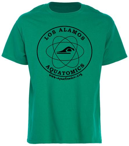 Aquatomics Logo T - SwimOutlet Unisex Cotton T-Shirt - Brights
