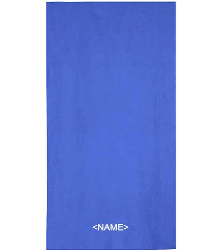 DST CUSTOM - Royal Comfort Terry Velour Beach Towel 32 X 64