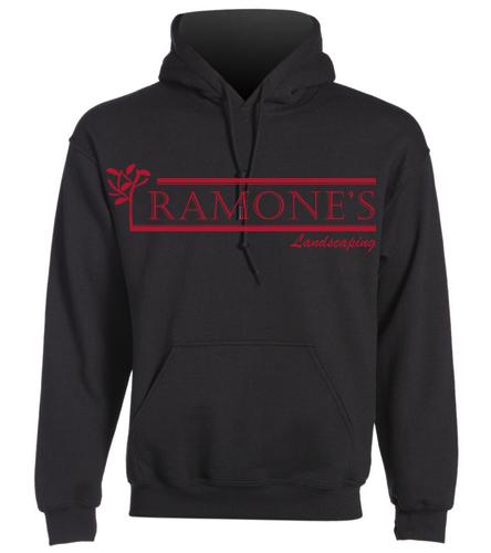 Ramone's Solid Logo - SwimOutlet Heavy Blend Unisex Adult Hooded Sweatshirt