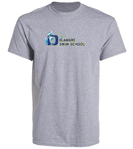 DSS GREY SWAG - SwimOutlet Unisex Cotton Crew Neck T-Shirt