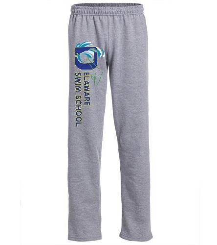DSS SWAG - SwimOutlet Heavy Blend Unisex Adult Open Bottom Sweatpants
