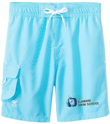 DSS SWAG - TYR Boys' Solid Challenger Swim Short (Toddler, Little Kid, Big Kid)