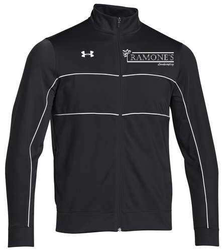 Ramone's Zip-up - Under Armour Men's Rival Knit Warm-Up Jacket