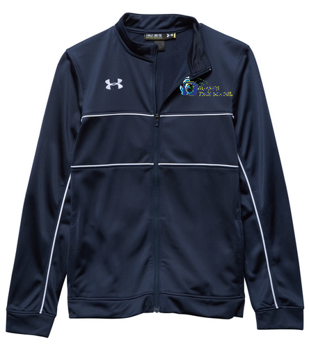 DSS Youth Jacket - Under Armour Youth Rival Knit Warm-Up Jacket
