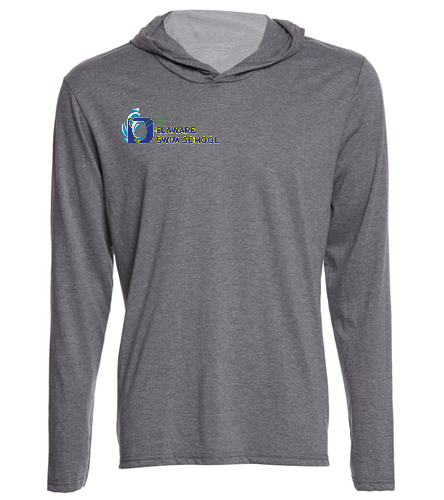 DSS GREY SWAG - SwimOutlet Men's Perfect Long Sleeve Hoodie