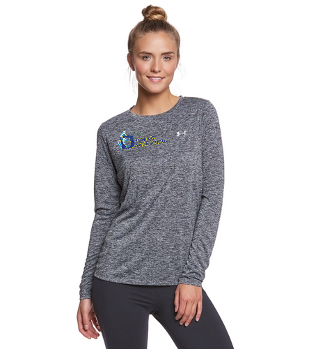 DSS SWAG - Under Armour Women's Tech Twist Crew Neck Long Sleeve