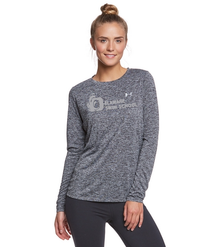 DSS SOLID SWAG - Under Armour Women's Tech Twist Crew Neck Long Sleeve