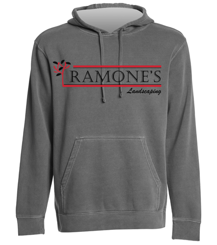 Ramone's Gear - SwimOutlet Unisex Midweight Pigment Dyed Hooded Sweatshirt