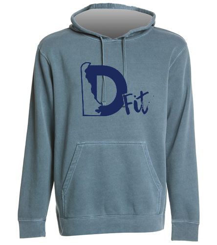 D-fit Swag - SwimOutlet Unisex Midweight Pigment Dyed Hooded Sweatshirt