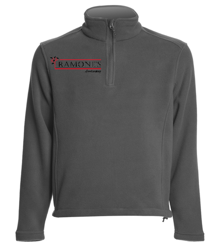 Ramone's 1/4 Zip - SwimOutlet Adult Unisex Fleece 1/4-Zip Pullover